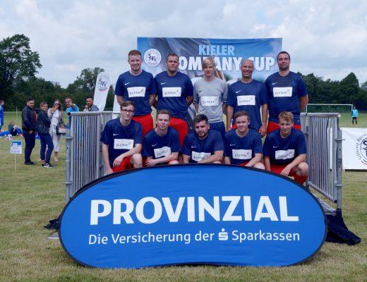 Team punker beim Kieler Company Cup 2017