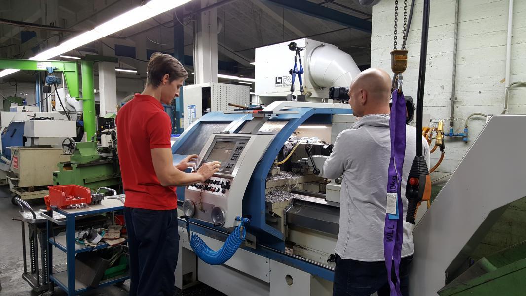 Dreharbeiten Werkzeugbau