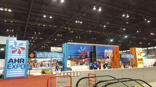 Getting ready for AHR Expo 2018