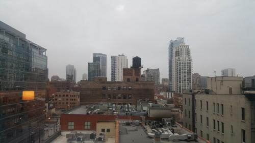 Chicago - View from hotel room